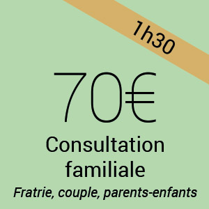 tarif psychologue consultation familiale